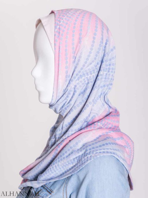 Spiraling Polka Dots Two-Piece Al-Amira Hijab hi2156 (8)
