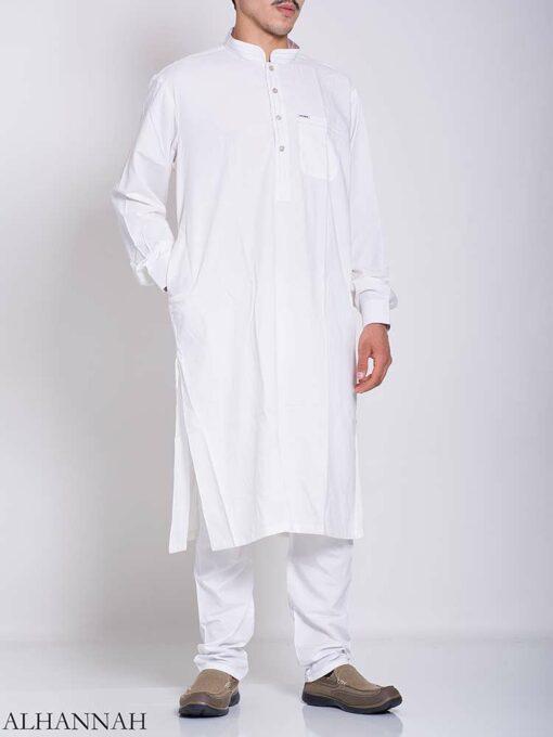 Dotted Collar Salwar Kameez me769 (1)