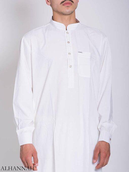 Dotted Collar Salwar Kameez me769 (2)