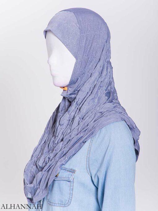 Glitter Crinkle One-Piece Al-Amira Hijab hi2170 (2)