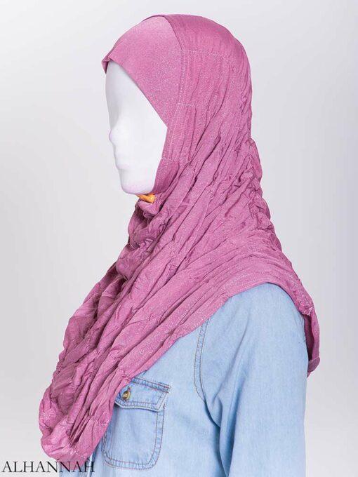 Glitter Crinkle One-Piece Al-Amira Hijab hi2170 (3)