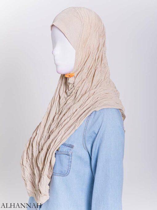 Glitter Crinkle One-Piece Al-Amira Hijab hi2170 (4)