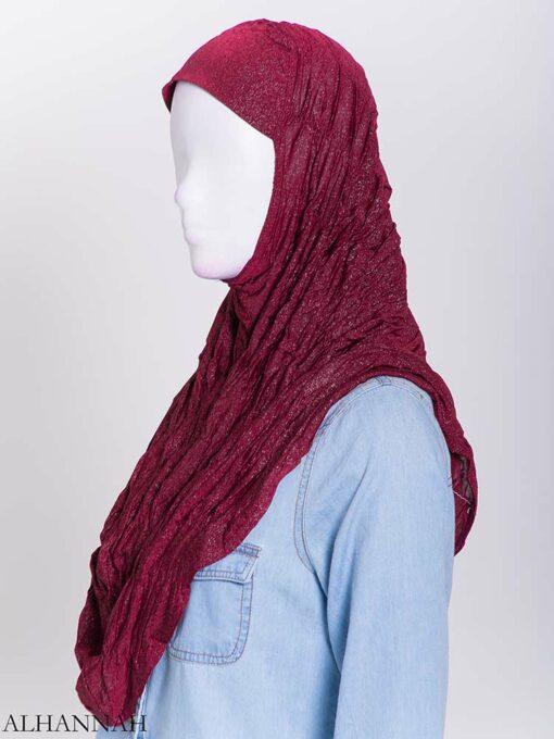 Glitter Crinkle One-Piece Al-Amira Hijab hi2170 (6)