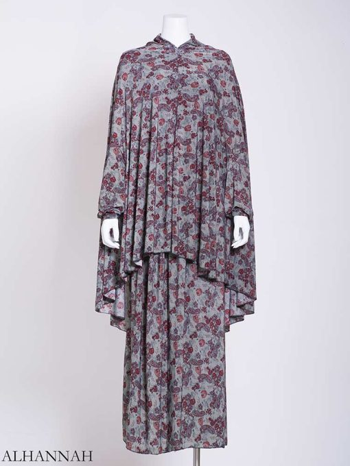 Paisley Roses – Two-Piece Prayer Outfit ps457 (3)