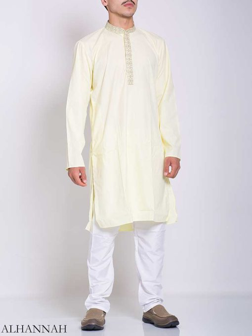 Pakistani Embroidered Collar Salwar Kameez me772 (1)