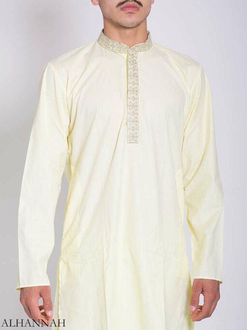 Pakistani Embroidered Collar Salwar Kameez me772 (2)