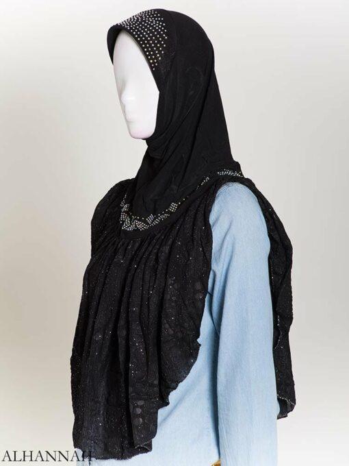 Rhinestone Crinkle One-Piece Al-Amira Hijab hi2172 (5)