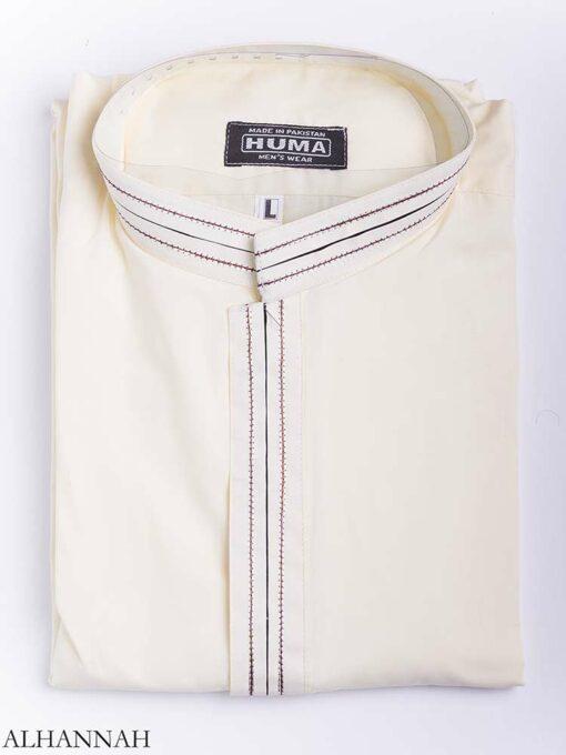 Striped Collar Salwar Kameez me773 (3)