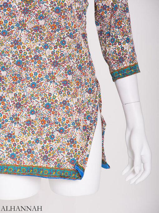 Poppin' Floral Kurti st606 (2)