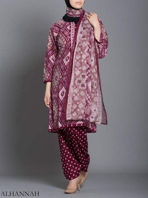 Floral Diamond Salwar Kameez sk1239 (2)