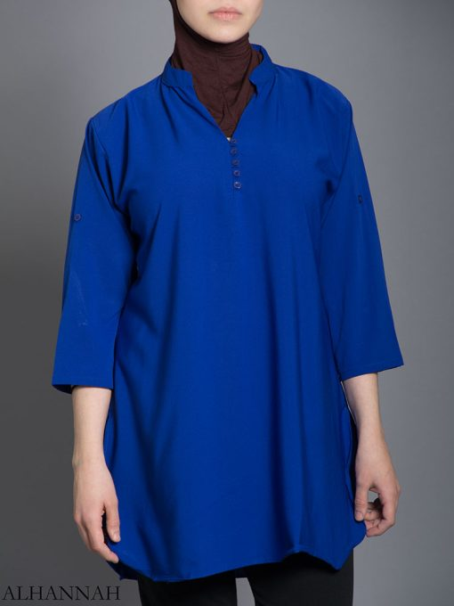 Solid Color Button-Up Kurti st605 (5)
