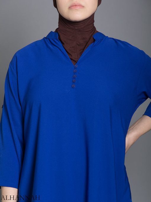 Solid Color Button-Up Kurti st605 (7)