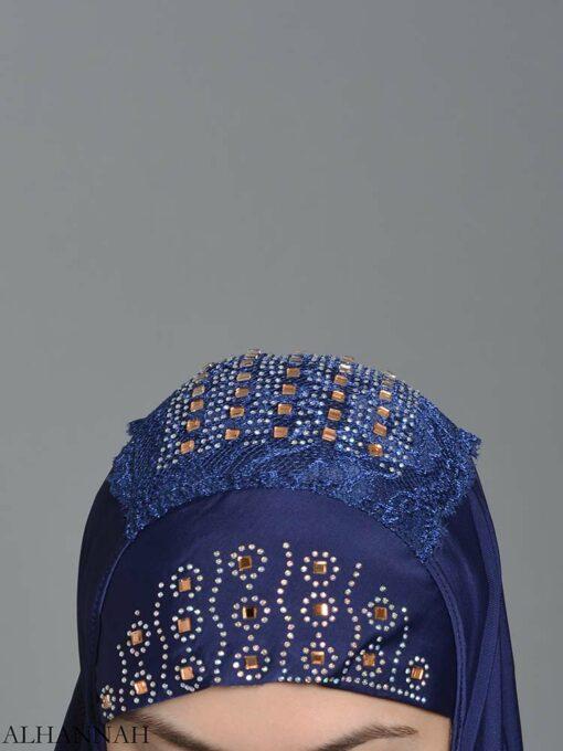 Embellished Laced One-Piece Al-Amira Hijab hi2174 (2)