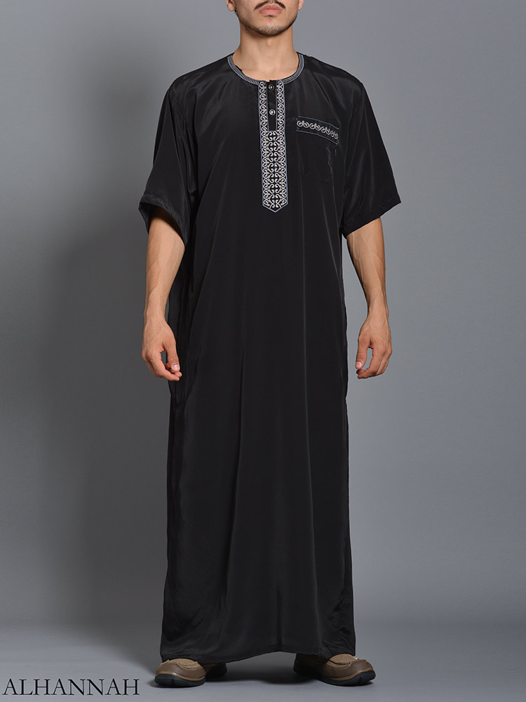 Moroccan Embroidered Thobe me784 (1)