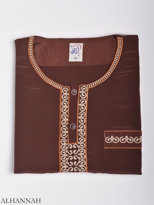 Moroccan Embroidered Thobe me784 (5)