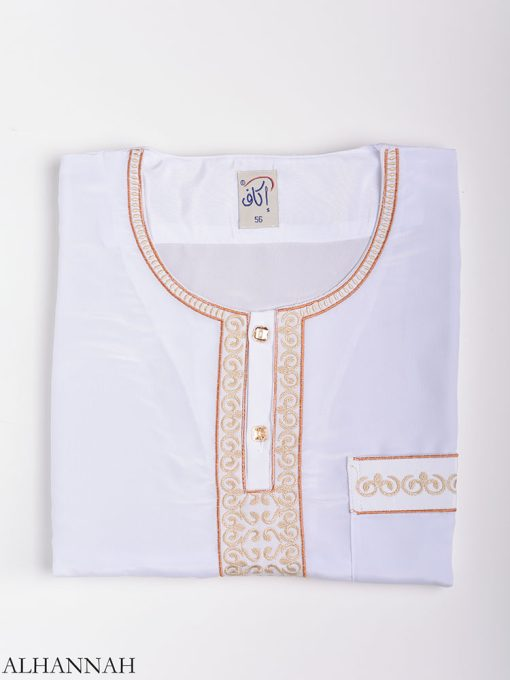 Moroccan Embroidered Thobe me784 (6)
