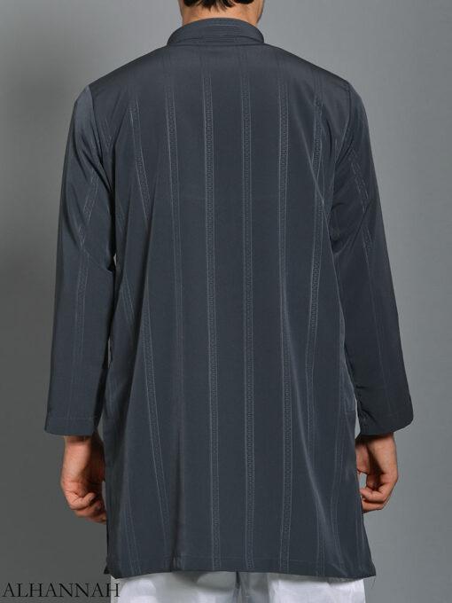 Striped Ikaf Kurta shirt me786 (1)