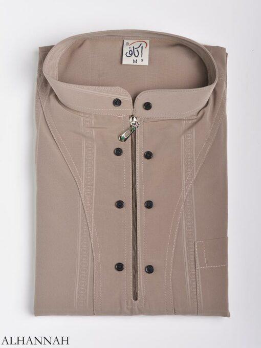 Striped Ikaf Kurta shirt me786 (4)