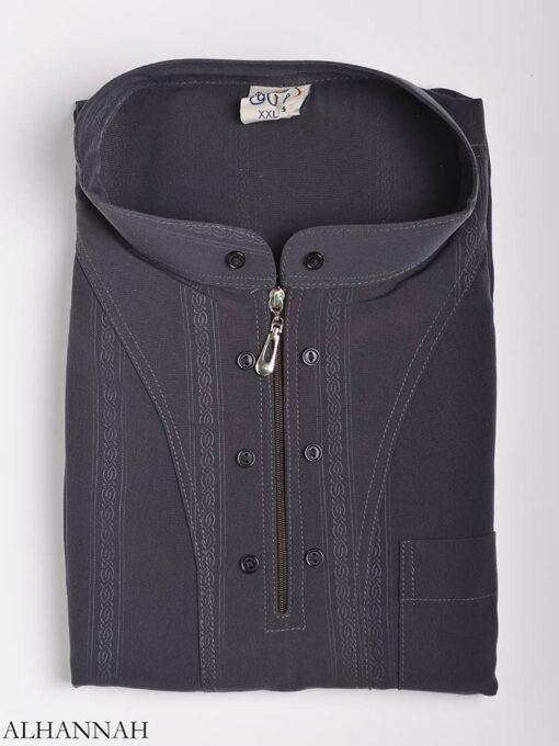 Striped Ikaf Kurta shirt me786 (5)