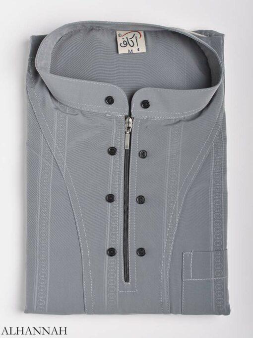 Striped Ikaf Kurta shirt me786 (7)