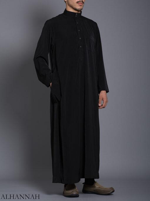 Black Daffah Saudi Thobe me788 (2)
