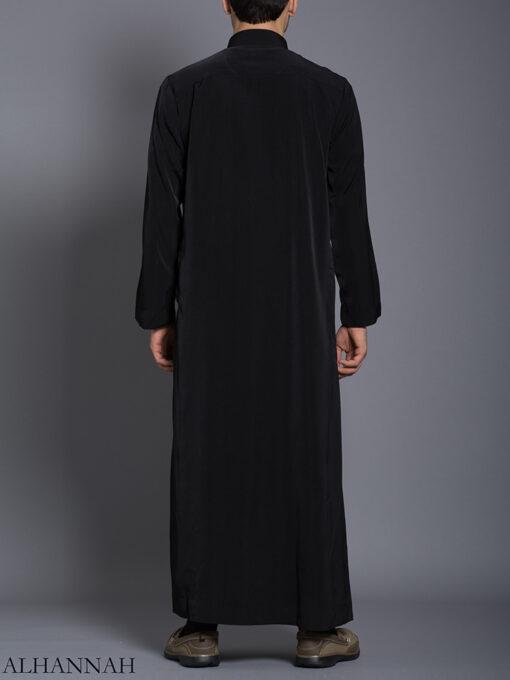 Black Daffah Saudi Thobe me788 (4)