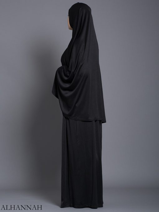 Classic Black - Two-Piece Prayer Outfit ps463 (2)