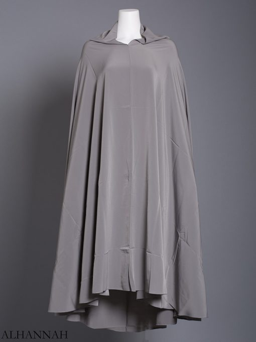 Plain Solid Color Long Khimar hi2175 (10)