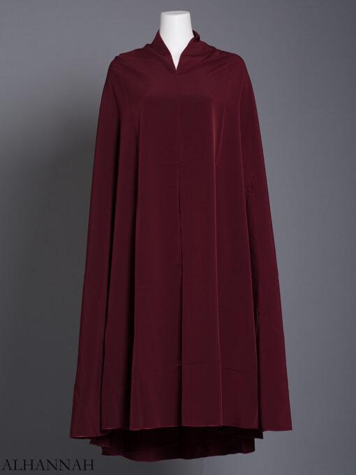 Plain Solid Color Long Khimar hi2175 (11)