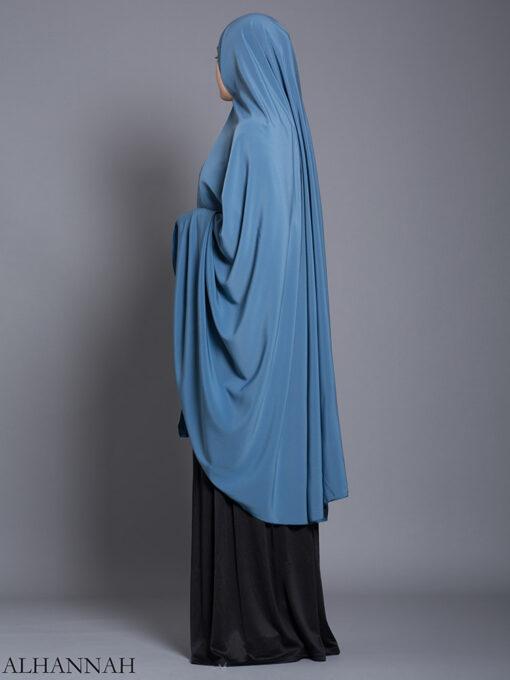 Plain Solid Color Long Khimar hi2175 (13)