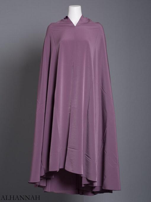 Plain Solid Color Long Khimar hi2175 (7)