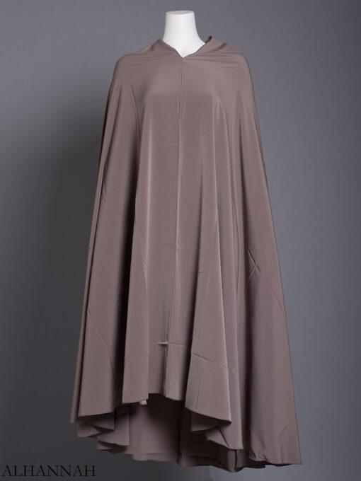 Plain Solid Color Long Khimar hi2175 (8)