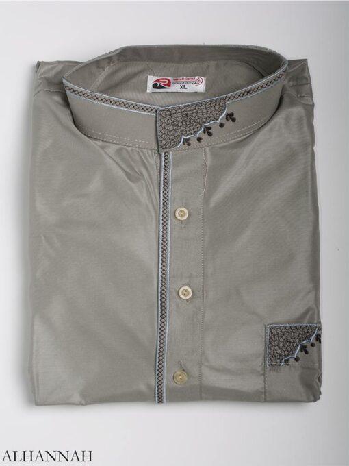 Zari Embroidered Pocketed Salwar Kameez me787 (9)