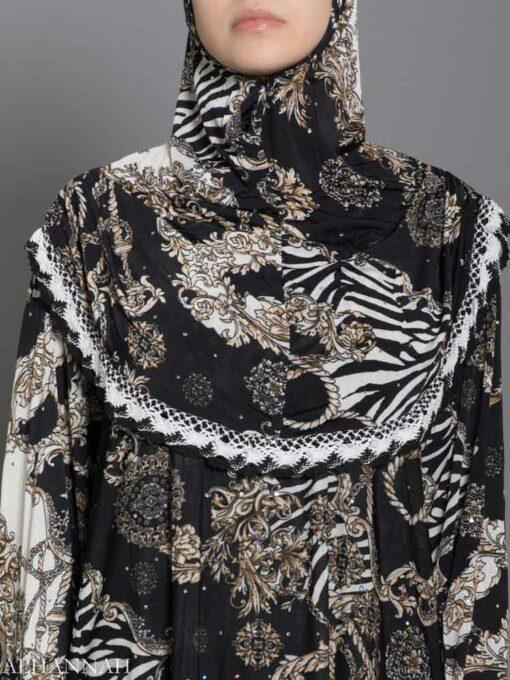 Jungle Sparkle Prayer Outfit Close Up