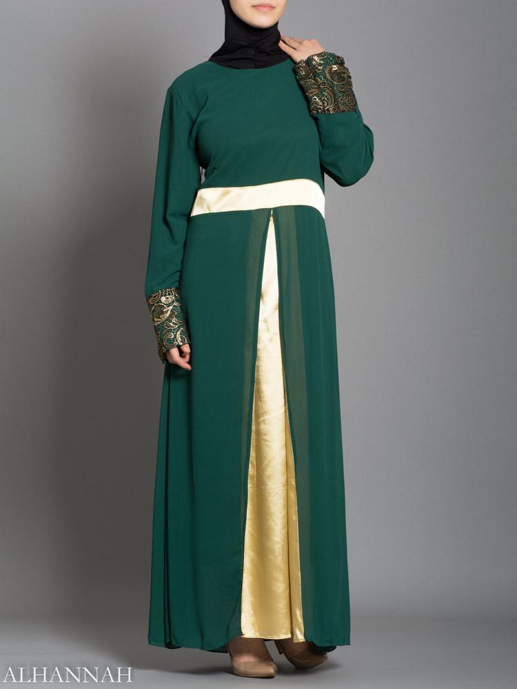 Sifon szatén pulóver Abaya - AB732 17e372ae2b