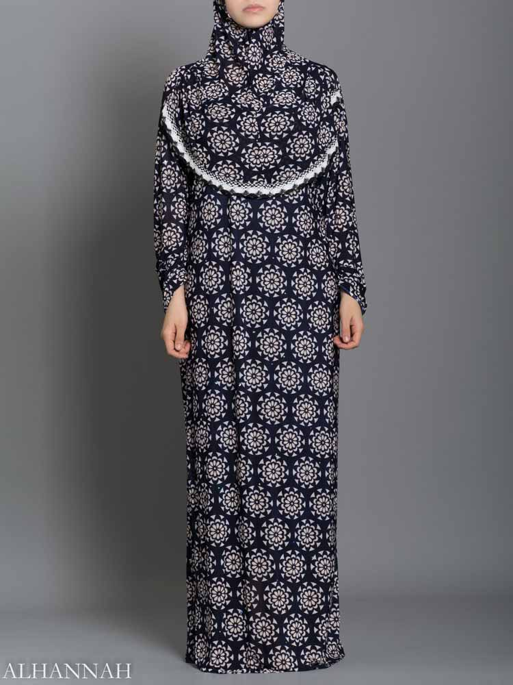 Abstract daisy Prayer Outfit