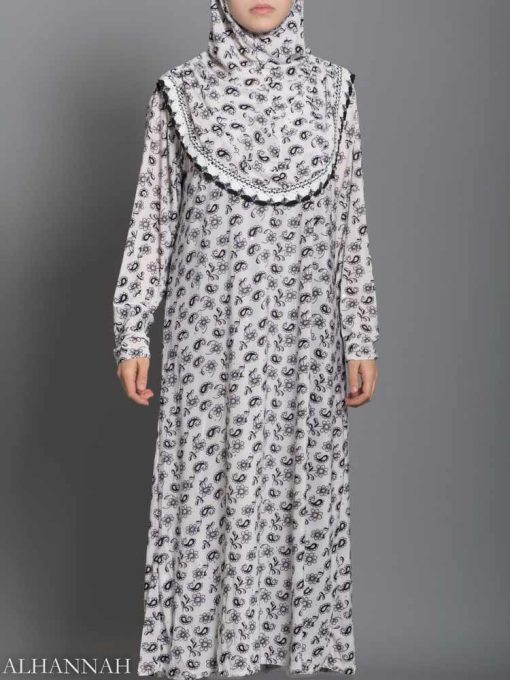Falling Paisley Prayer Outfit