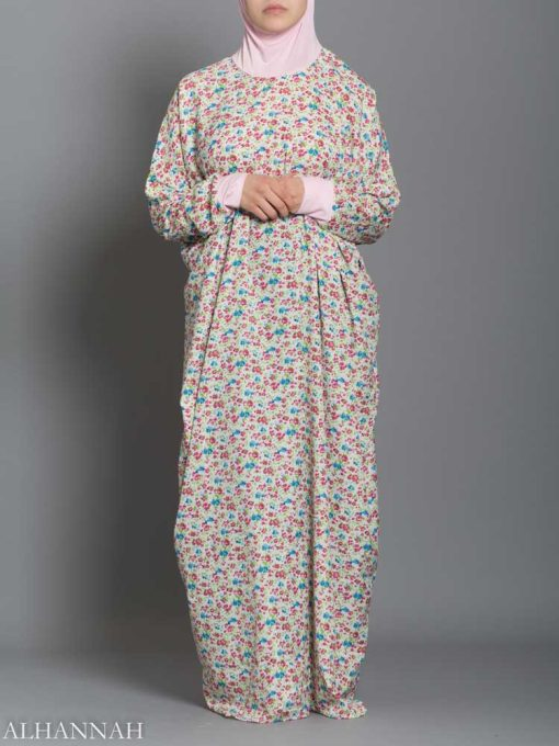 Floral Cotton Candy Prayer Outfit