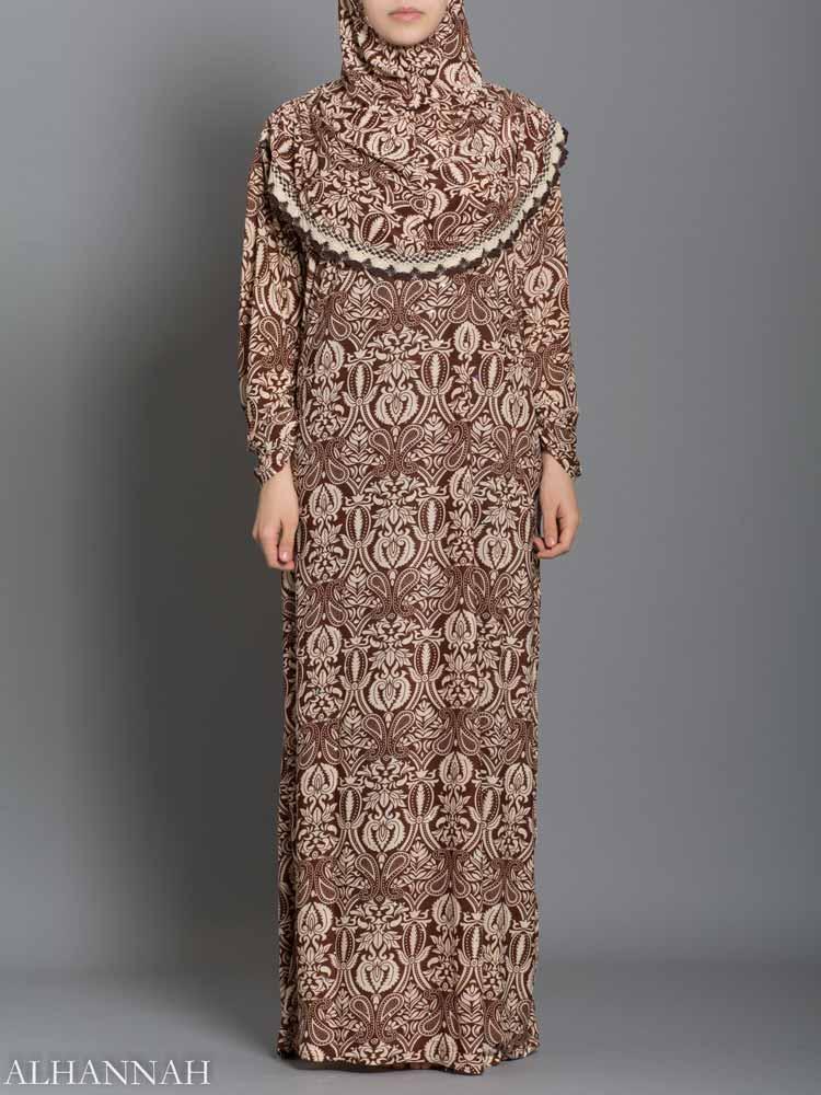 Henna Print Prayer Outfit