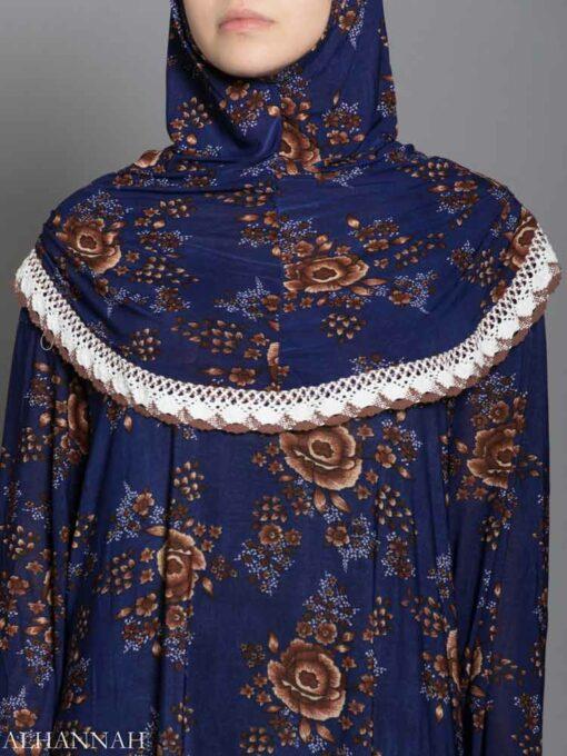 Lapis Rose Prayer Outfit - Close Up