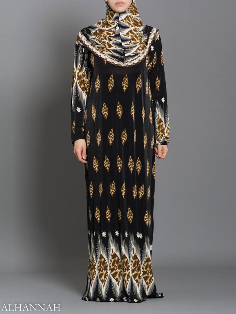 Leopard Lashes Prayer Outfit