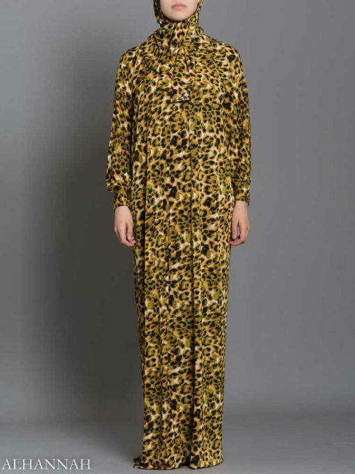 Leopard Print Prayer Outfit