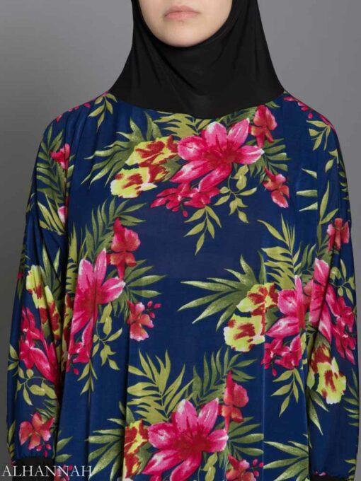 Palm Bloom Prayer Outfit Closeup