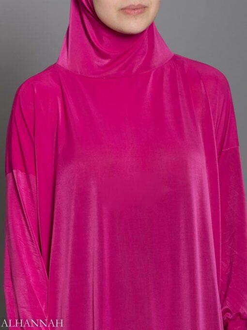 Plain Pink Prayer Outfit - Close Up