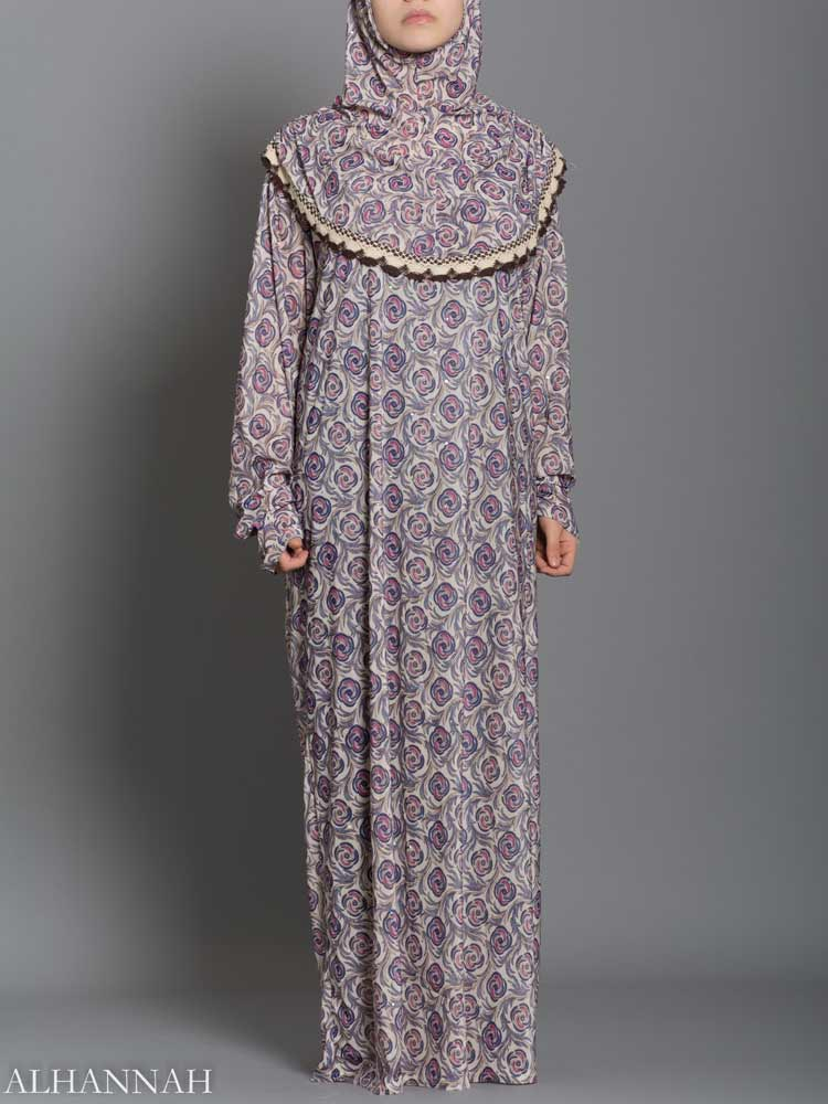Tide Swirls Prayer Outfit