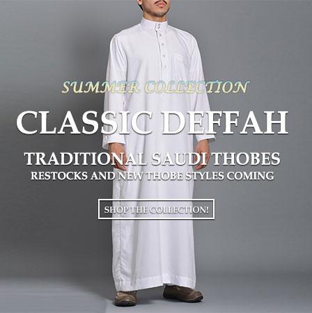 Менс исламска облека Thobe 6-18-19-m