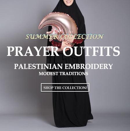 Женска исламска облека молитва-тимови 6-18-19-m