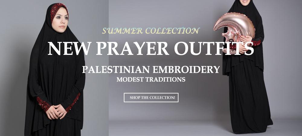 Женска исламска облека молитва-тимови 6-18-19
