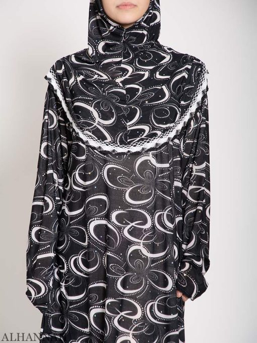 Black Clover Abstract One Piece Prayer Outfit Close up