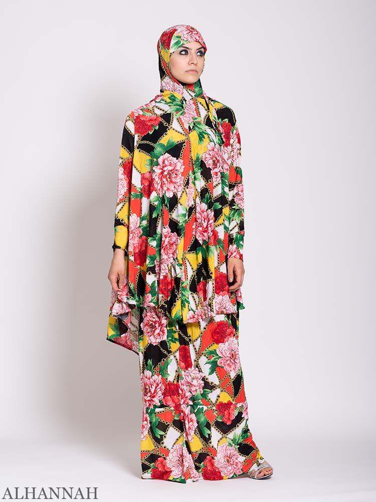 Floral Tropics 2 Piece Prayer outfit